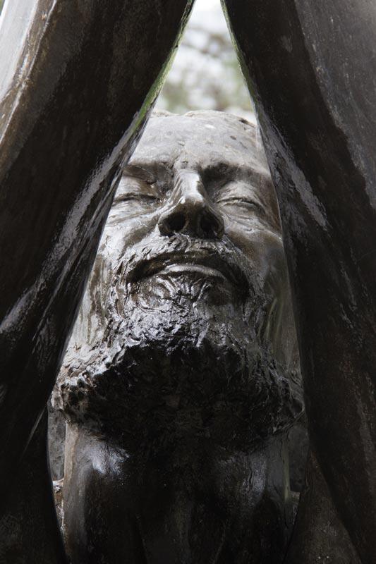 Jesús es bautizado por Juan Vía Christi