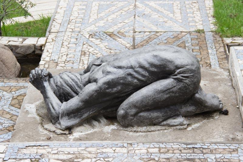 Jesús ora en Getsemani