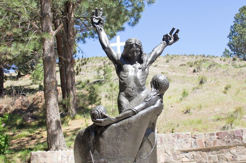 Jesús, María y Juan Vía Christi
