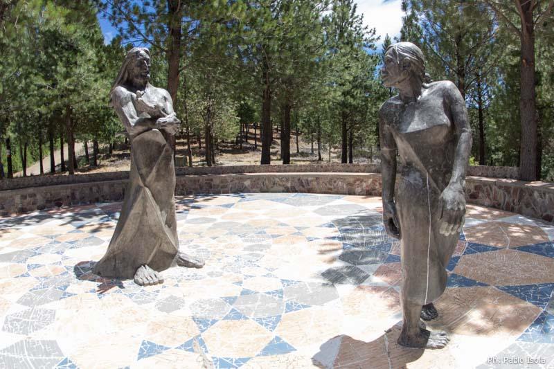 Jesús se encuentra con Magdalena